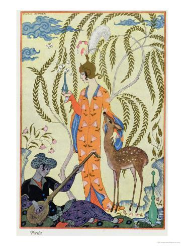Persia, Illustration from The Art of Perfume, Pub. 1912 Giclee Print