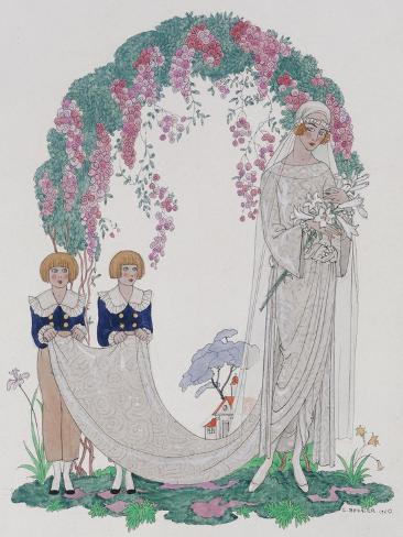 The Bride, 1920 Giclee Print