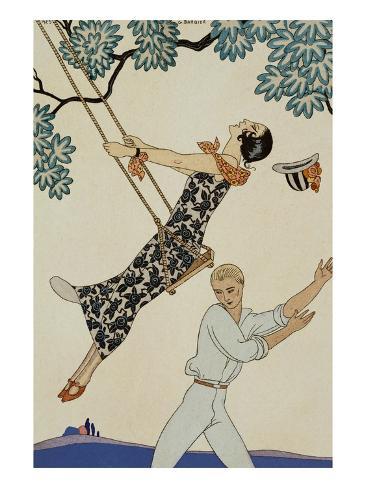 The Swing Giclee Print