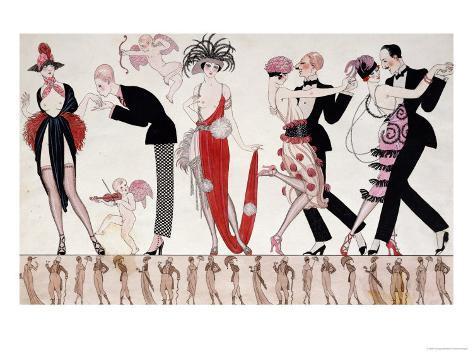 The Tango Giclee Print
