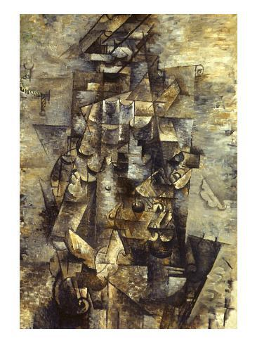 Braque: Man with a Guitar Giclee Print