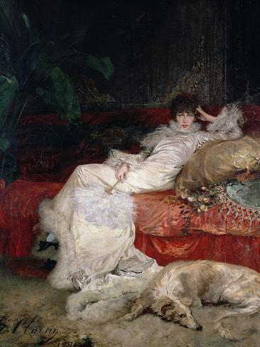 Sarah Bernhardt 1876 Giclee Print