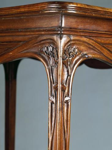 art nouveau style cabinet table 1903 giclee print by georges de