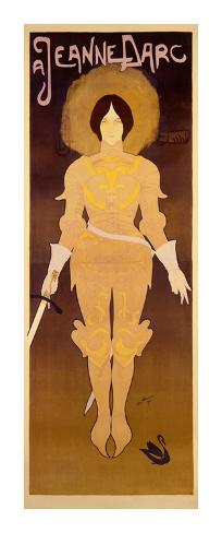 Joan d'Arc Art Print