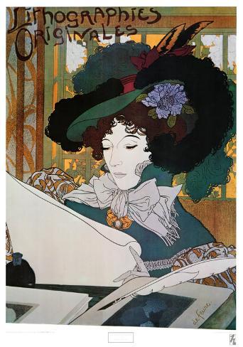 Lithographies Originales Art Print