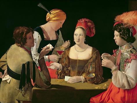 The Cheat with the Ace of Diamonds, circa 1635-40 Giclee Print
