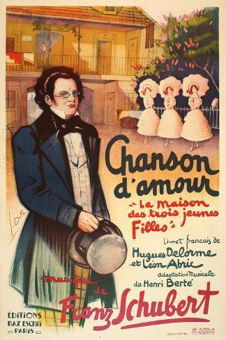 Chanson d'Amour (c.1926) Collectable Print