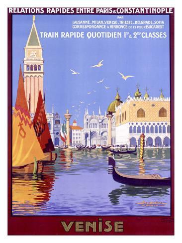 Venise Giclee Print