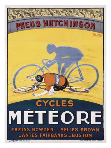 Cycles Meteore Giclee Print