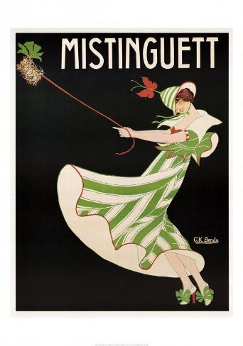 Mistinguett Art Print
