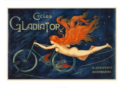 Cycles Gladiator Art Print