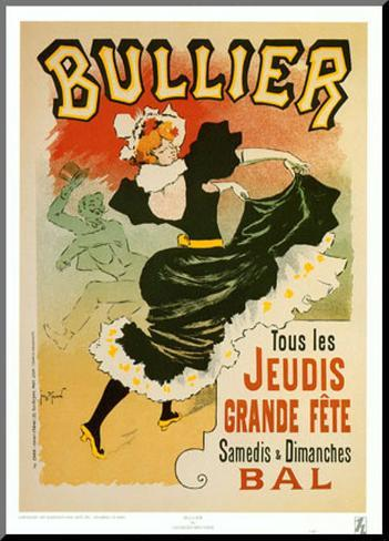 Bullier Mounted Print