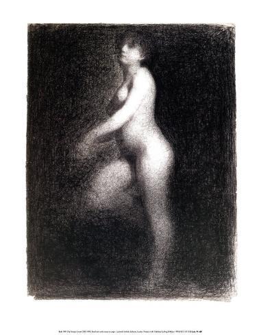 Nude, 1881-2 Art Print