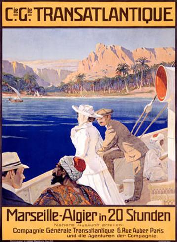 Transatlantique, Marseille Giclee Print