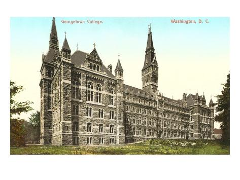 Georgetown College, Washington D.C. Art Print