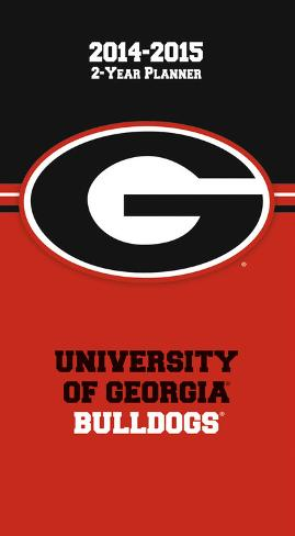 Georgia Bulldogs - 2014-15 2-Year Planner Calendars