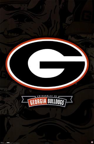 Georgia Bulldogs Poster