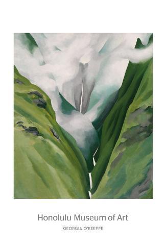 Waterfall No. 3, 'Iao Valley Art Print