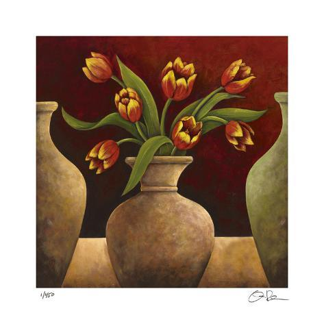 Red Tulips Giclee Print