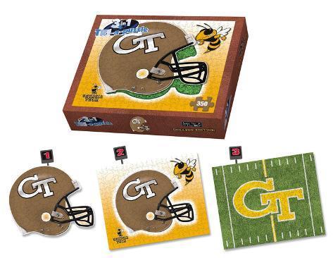 Georgia Tech Yellow Jackets Georgia Tech Puzzle Jigsaw Puzzle