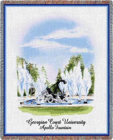 Georgian Court University, Apollo Throw Blanket