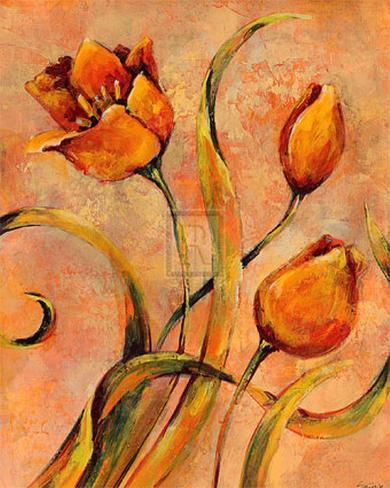 Flora Captured IV Art Print