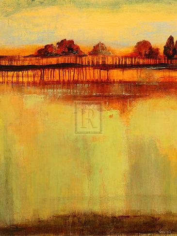 October Sky I Art Print
