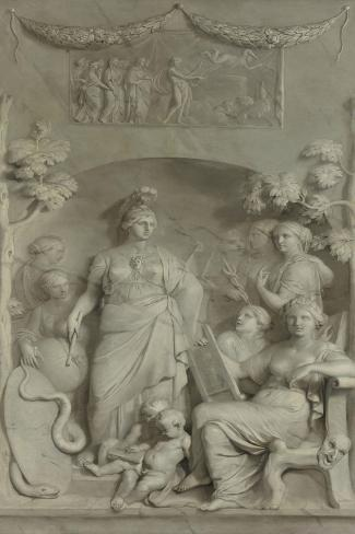 Allegory of the Sciences Art Print