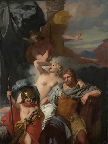 Mercury Ordering Calypso to Release Odysseus Art Print