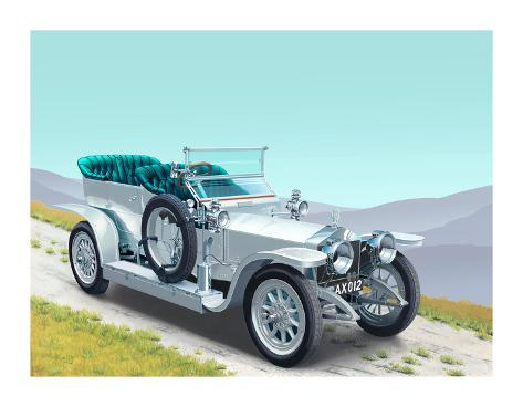 Rolls Royce Giclee Print