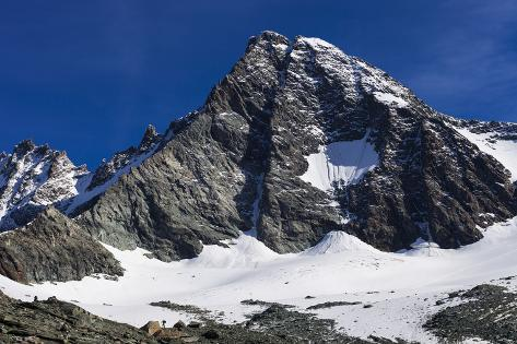 Austria, East Tyrol, High Tauern National Park, Gro§glockner (Mountain Photographic Print