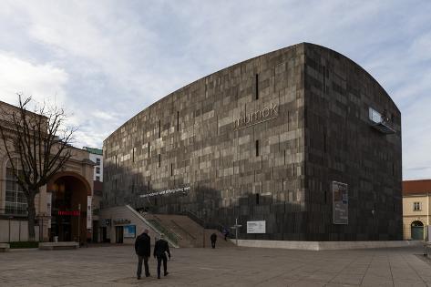 Europe, Austria, Vienna, Museumsquartier Mq, Museum of Modern Art, Mumok Photographic Print