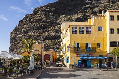 Promenade, Puerto De Tazacorte, La Palma, Canary Islands, Spain, Europe Photographic Print