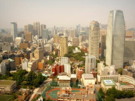 Tokyo Minato Skyline Photographic Print