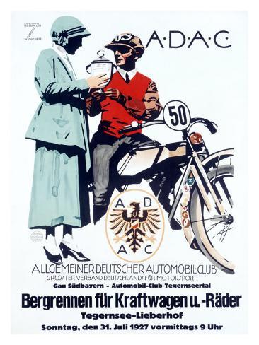 German Automobile Club Giclee Print