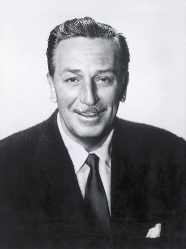 Portrait of Walt Disney, c.1950 Photographic Print