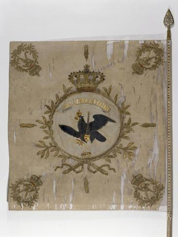Flag of the Prussian Infantry Giclee Print