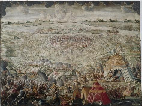The Relief of Vienna by Polish, Austrian and German Forces on 12th September 1683, after 1683 Giclee Print