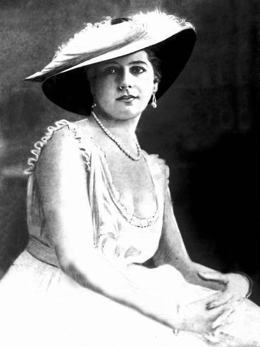 German Spy Mata Hari in 1917 World War I Photographic Print