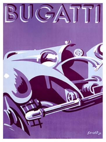 Bugatti Giclee Print