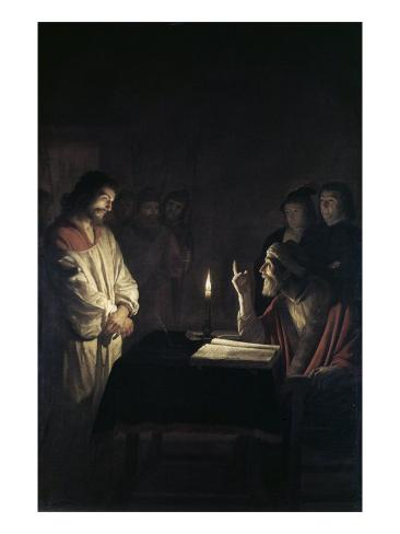 Christ Before the High Priest Giclee Print