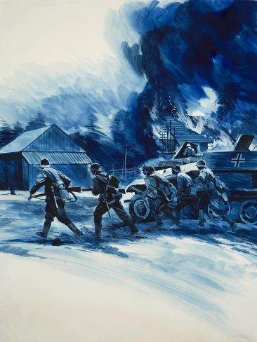 Operation Barbarossa of 1941 Giclee Print