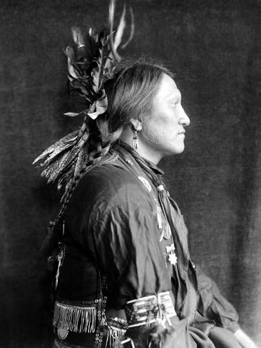 Sioux Native American, C1900 Photographic Print