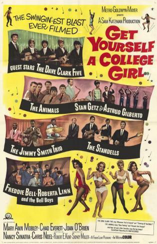 Get Yourself a College Girl マスタープリント