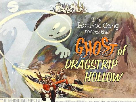 Ghost of Dragstrip Hollow, 1959 Art Print