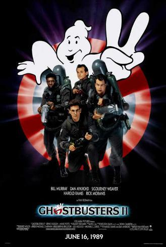 Ghostbusters II Stampa master