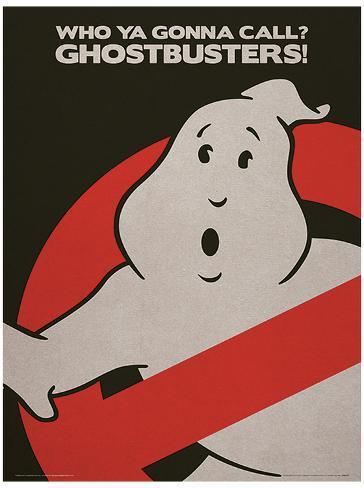 Ghostbusters (Logo) Movie Poster Masterprint