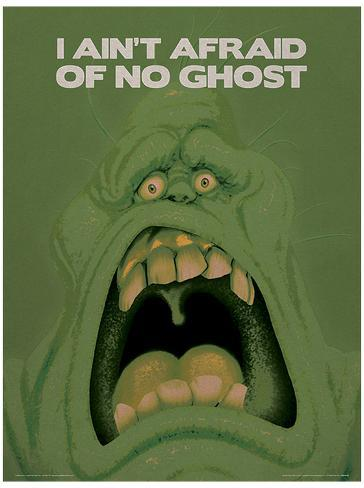 Ghostbusters (Slimer) Movie Poster Lámina maestra