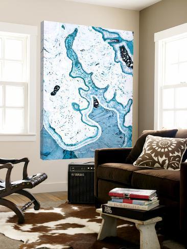 Blue Lace Agate Loft Art
