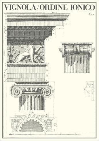Ionic Order Art Print
